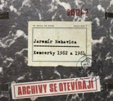 Jarom�r Nohavica: obal alba z �ady Archivy se otev�raj�