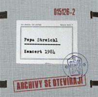 Pepa Streichl: obal alba z řady Archivy se otevírají