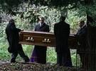 Pohřeb Alexandra Litviněnka v roce 2006