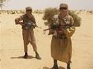 Islamisté z hnutí Ansar Dine na severu Mali (24. dubna 2012)