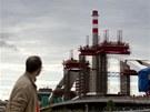 Návštěvníci si mohli poprvé prohlédnout i stavbu unikátního Trojského mostu.