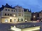 Rekonstrukce Masarykova náměstí ve Frýdlantu v Čechách.