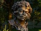 Busta Jimiho Hendrixe v polském městě Kielce