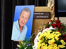 Poslední rozloučení s hercem Radoslavem Brzobohatým v pražském krematoriu