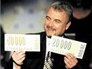 Největší popularitu Vladimír Čech získal jako moderátor televizní soutěže
