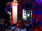 Únik plynu v Ostravě-Vítkovicích zaměstnal hasiče, policisty, plynaře i