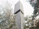 Vítězný návrh na novou podobu rozhledny ve Větrovech u Tábora od architekta