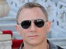 Představitel 007 Daniel Craig po tiskové konferenci k filmu Skyfall v Istanbulu