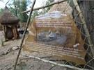Druhá část expozice Etiopie, která se v sobotu otevírá ve zlínské zoo.