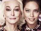 Jednou z tváři kolekce Missoni Lindex se stala 81letá modelka Carmen Dell'Orefice. (2012)