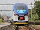 P�edstaven� nov� vlakov� soupravy RegioShark na plze�sk�m hlavn�m n�dra��.
