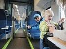 Interi�r nov� vlakov� soupravy RegioShark.