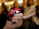 V Paláci knih Luxor na Václavském náměstí začali v deset večer prodávat český