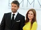 Julianne Moore a její manžel Bart Freundlich