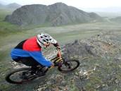Richard Gasperotti změřil síly s pohořím Altaje.