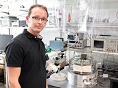 Tomáš Tůma pracuje v Zurichu na svém doktorském výzkumu