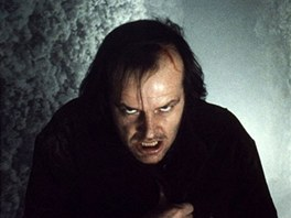 Jack Nicholson ve filmu Stanleyho Kubricka Shinning