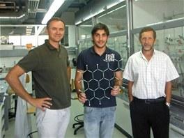 Tým vědců v Zurichu: Diego Pena, Alejandro Criado and Enrique Guitián (zleva)