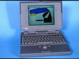 PowerBook z roku 1994, jeden z prvních počítačů Apple s novým procesorem