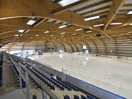 Rekonstrukce zimního stadionu v Jičíně . Autor: Ing. arch. Miloš Mlejnek , BfB