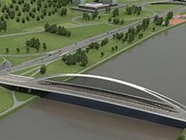 Vizualizace Trójského mostu