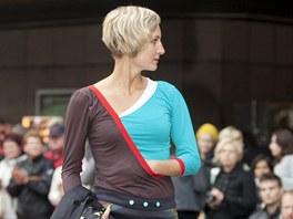 Na piazzettě Národního divadla se uskutečnil Dyzajn Márket s přehlídkou módní...