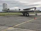 B-25 mělo jako jedeno z prvních masově vyráběných letadel na světě příďový