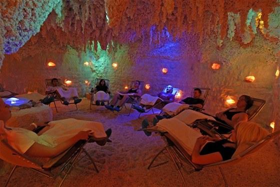 solná jeskyně Wellness Hotel Frymburk