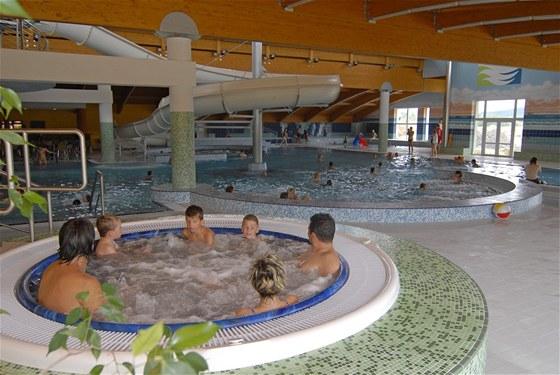 bazén Wellness Hotel Frymburk