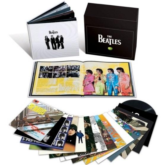 Kolekce vinylových verzí alb Beatles