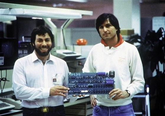 Steve Jobs a Steve Wozniak v roce 1978