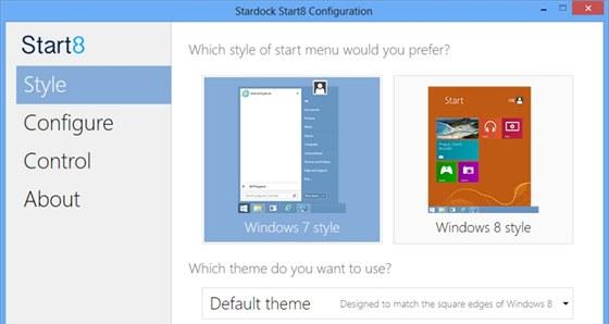 S programem Start8 se budou ve Windows 8 cítit dobře i zatvrzelí odpůrci