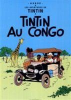 Tintin v Kongu (obálka francouzského vydání)