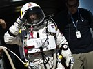 Felix Baumgartner v úterý 9. října připraven byl, zradilo jej však počasí. Ve