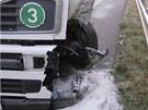 Kvůli vážné nehodě musela být uzavřena silnice I/11 z Týniště nad Orlicí. Řidič