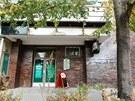 Chotěbořský bar Ulita, kde mladý Vietnamec napadl několik lidí sekerou,...