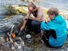 Rozehřát gril a počkat, až přijde rybář s úlovkem. Chuť je nepřenosná, ale...