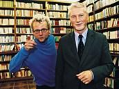 Režisér Radim Špaček s otcem Ladislavem, který je znám hlavně jako mluvčí