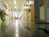Anesteziologicko-resuscitační oddělení nemocnice v Havlíčkově Brodě. Tady