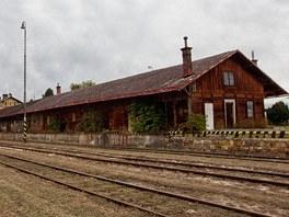 Bývalé nákladové nádraží v Jičíně.