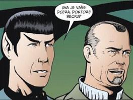 Z komiksu Star Trek - Původní série