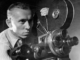 Karel Zeman s kamerou