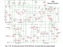 Druhá verze čipu 555 (vznikla s odstupem 33 let)
