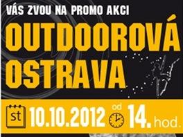 Leták k akci Outdoorová Ostrava