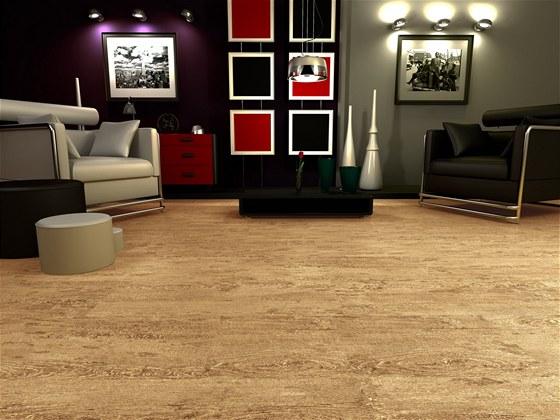 Nechte se okouzlit elegancí vinylové podlahové krytiny. Vzor: Dub písečný