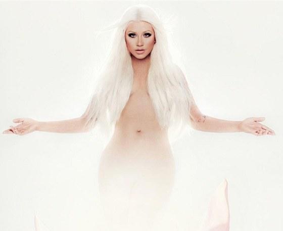 Christina Aguilera na přebalu alba Lotus vypadá štíhlá jako před lety.