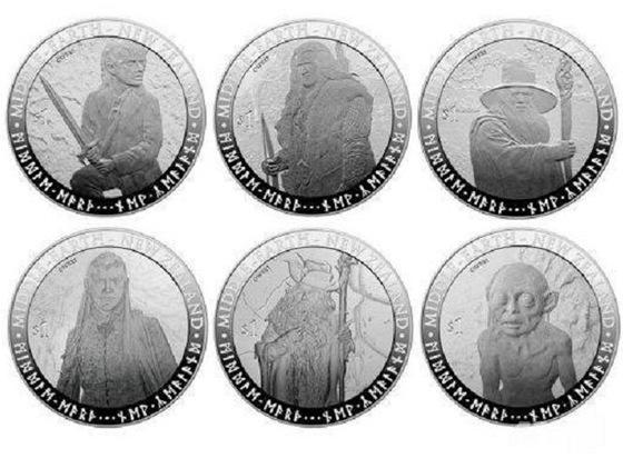 Na Zélandu budou platit nové hobití mince.