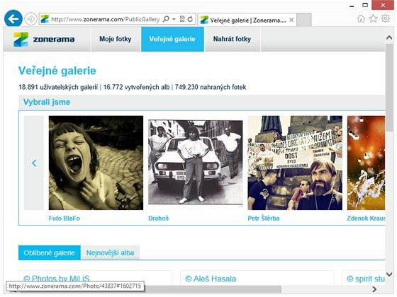 Internetová galerie Zonerama nabídne neomezený prostor pro vystavení vašich