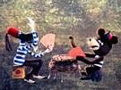 Záběr z televizního seriálu Pojďte pane, budeme si hrát (1965 - 1973)