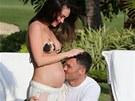 Brian Austin Green a Megan Foxová strávili před porodem dovolenou na Havaji.